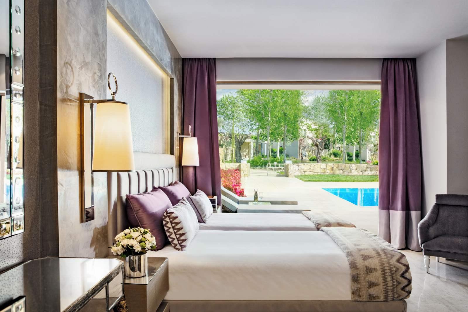 Sani Asterias Three Bedroom Deluxe Suite - Private Pool