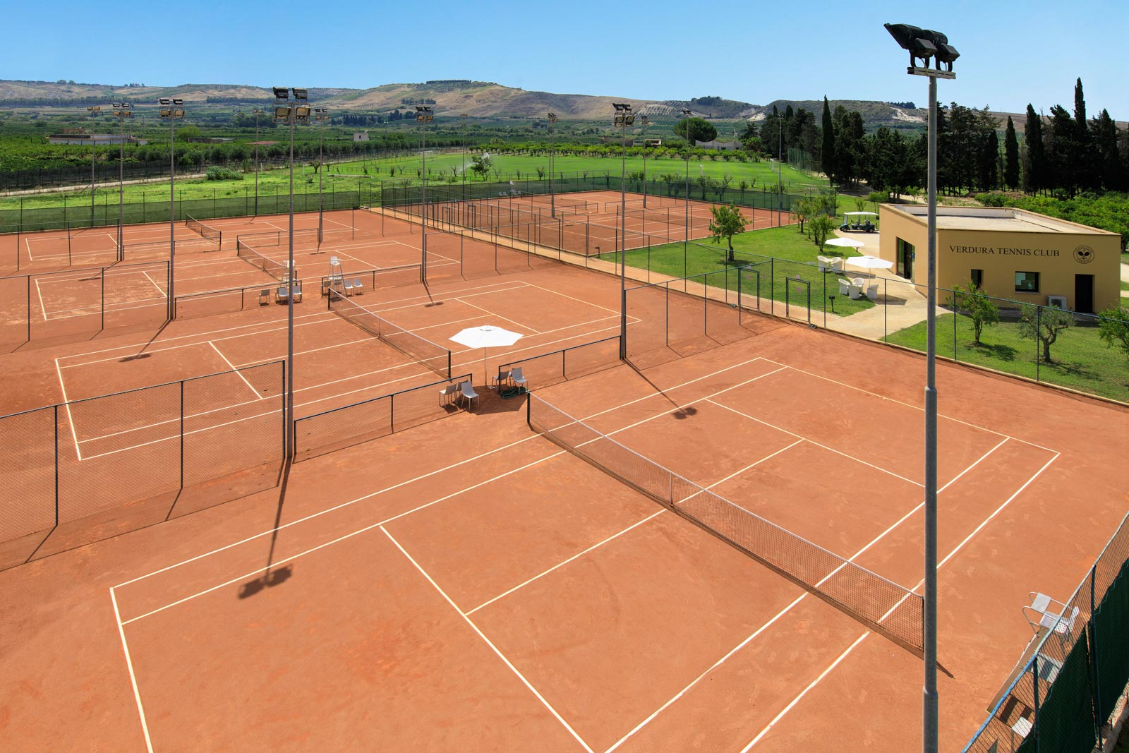 Verdura Resort Tennis Courts