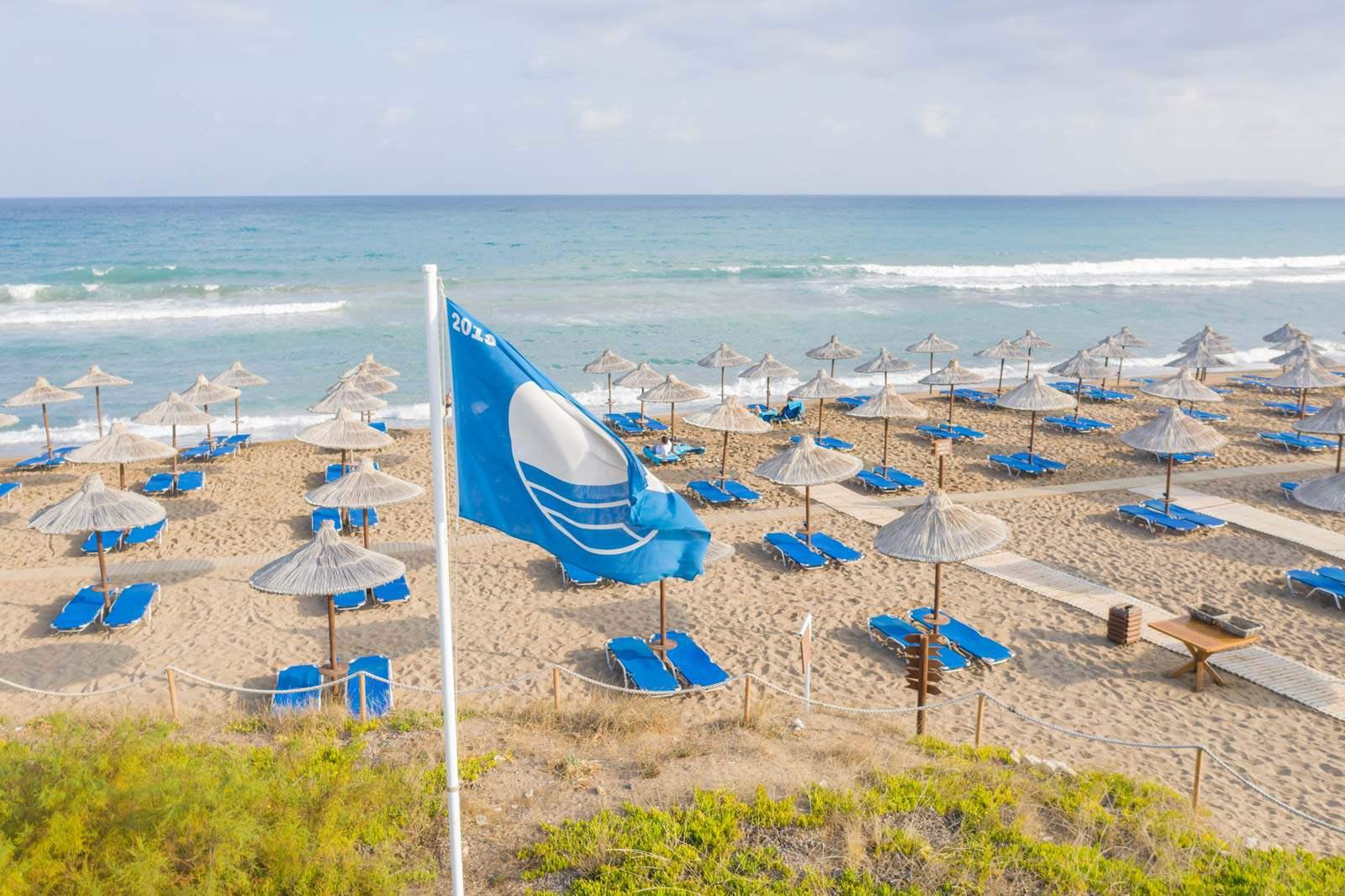 Agapi Beach Resort Blue Flag Beach