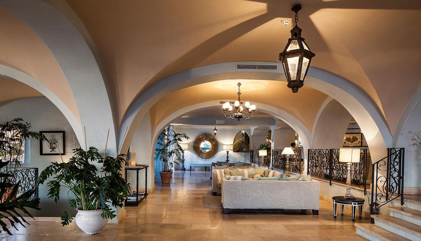 Lobby at Therasia Resort & Spa