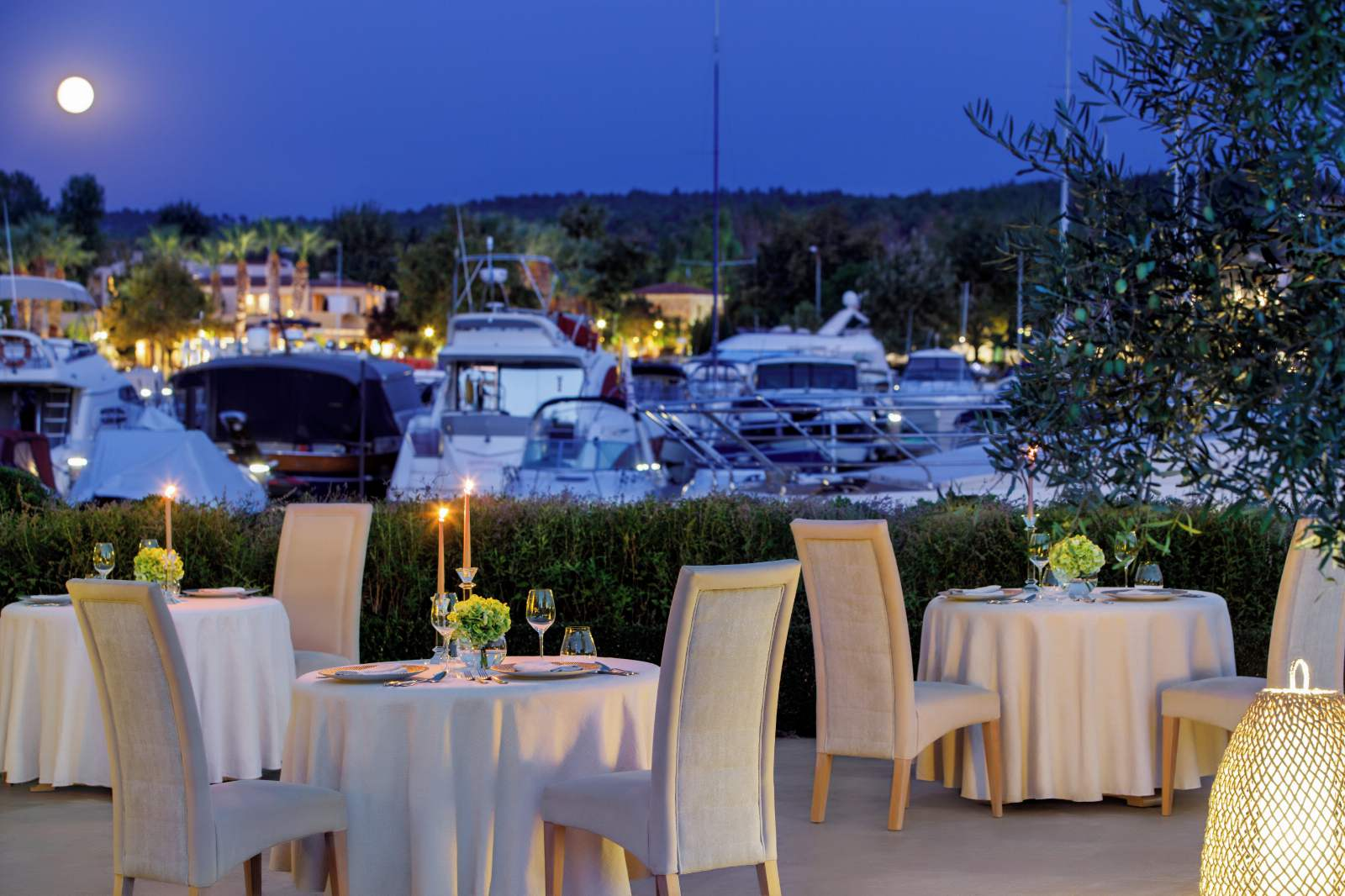 Sani Asterias Water Restaurant