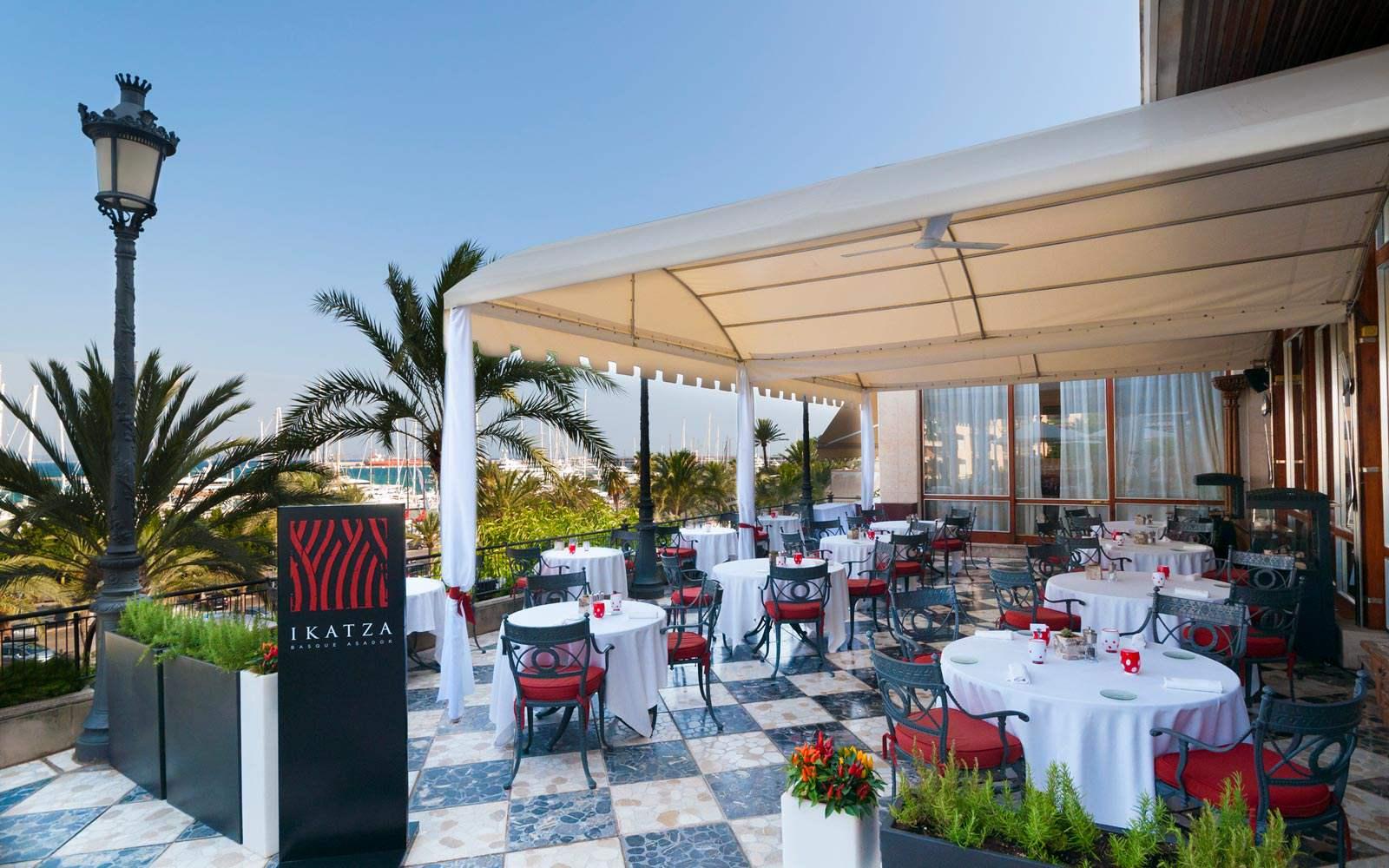 Gran Melia Victoria - Ikatza restaurant - terrace