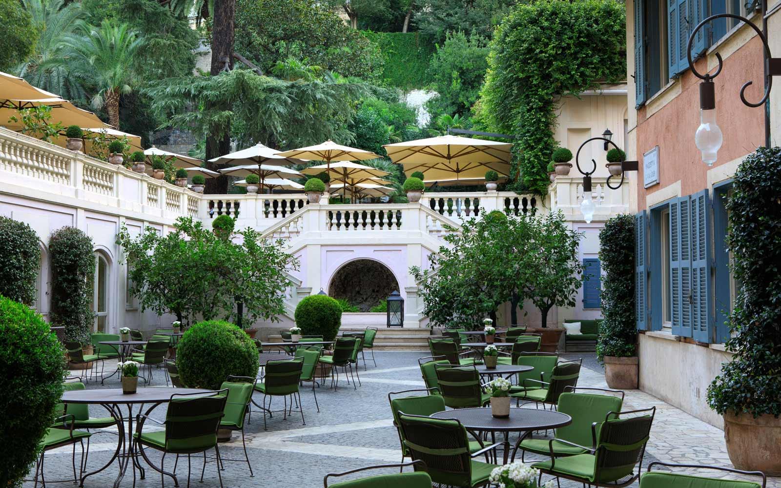 Hotel de Russie Piazzetta Valadier