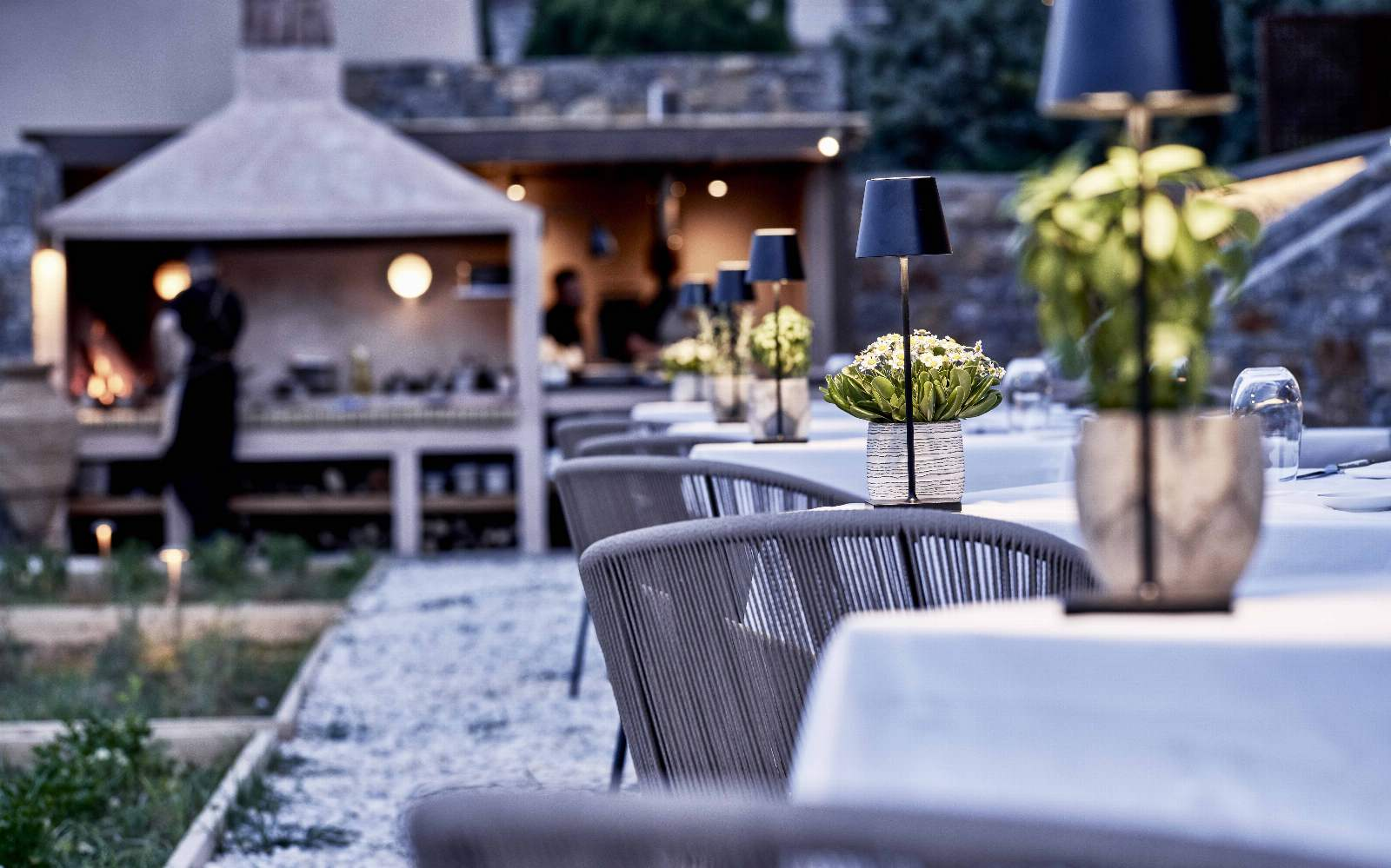 Blue Palace Anthos Restaurant