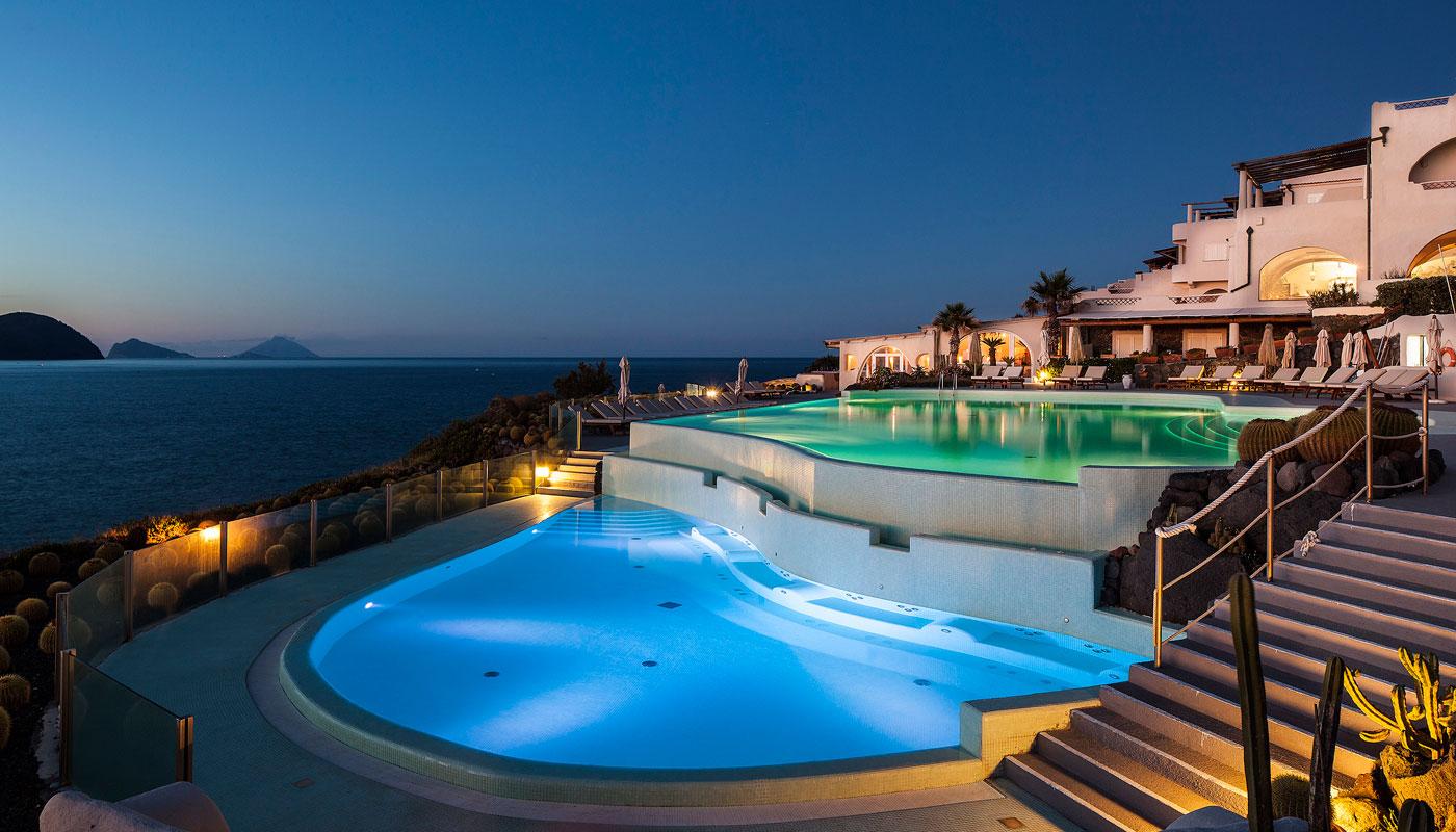Pool at Therasia Resort & Spa