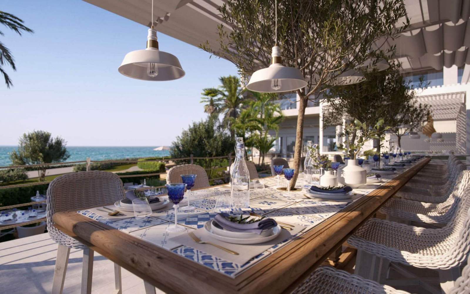 Ikos Andalusia - Ouzo restaurant