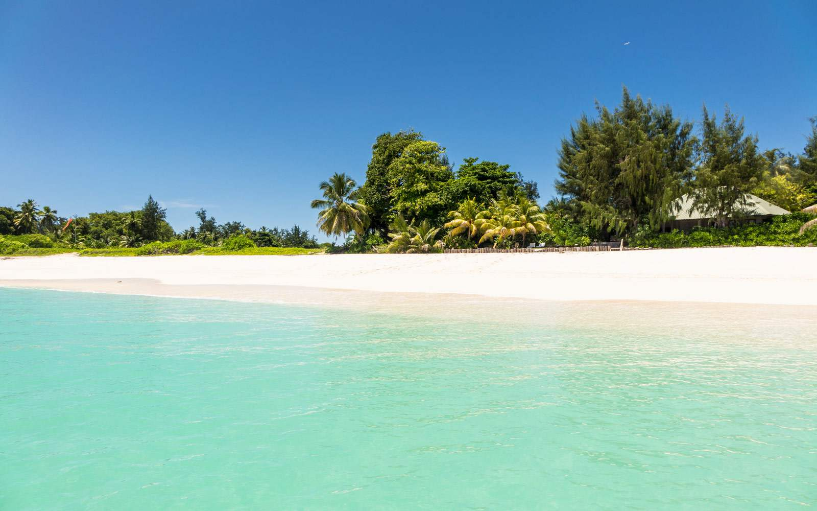 Denis Private Island - beach