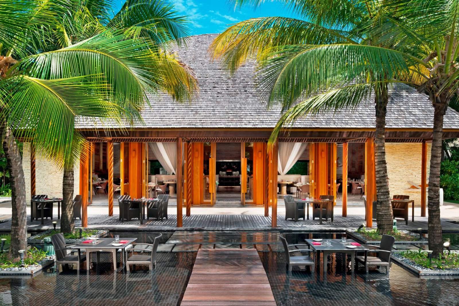 W Maldives - Kitchen Exterior