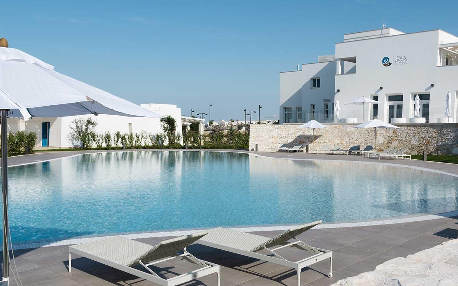 Poolside at Cala Ponte Hotel