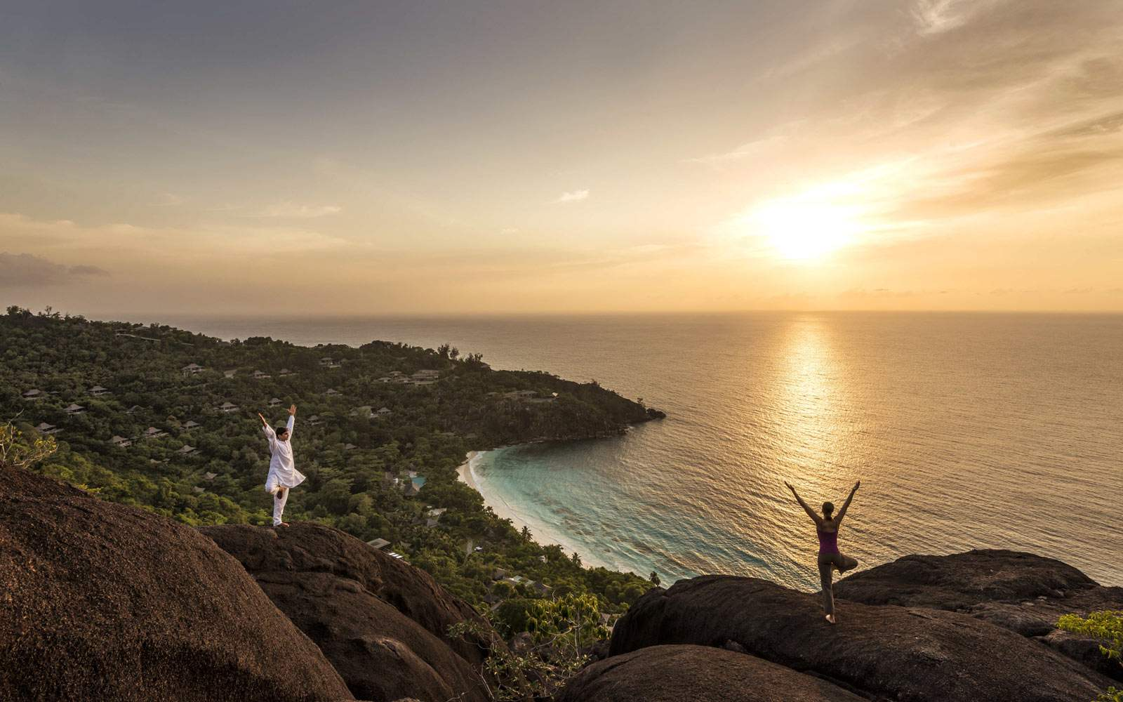 Four Seasons Seychelles - meditation class