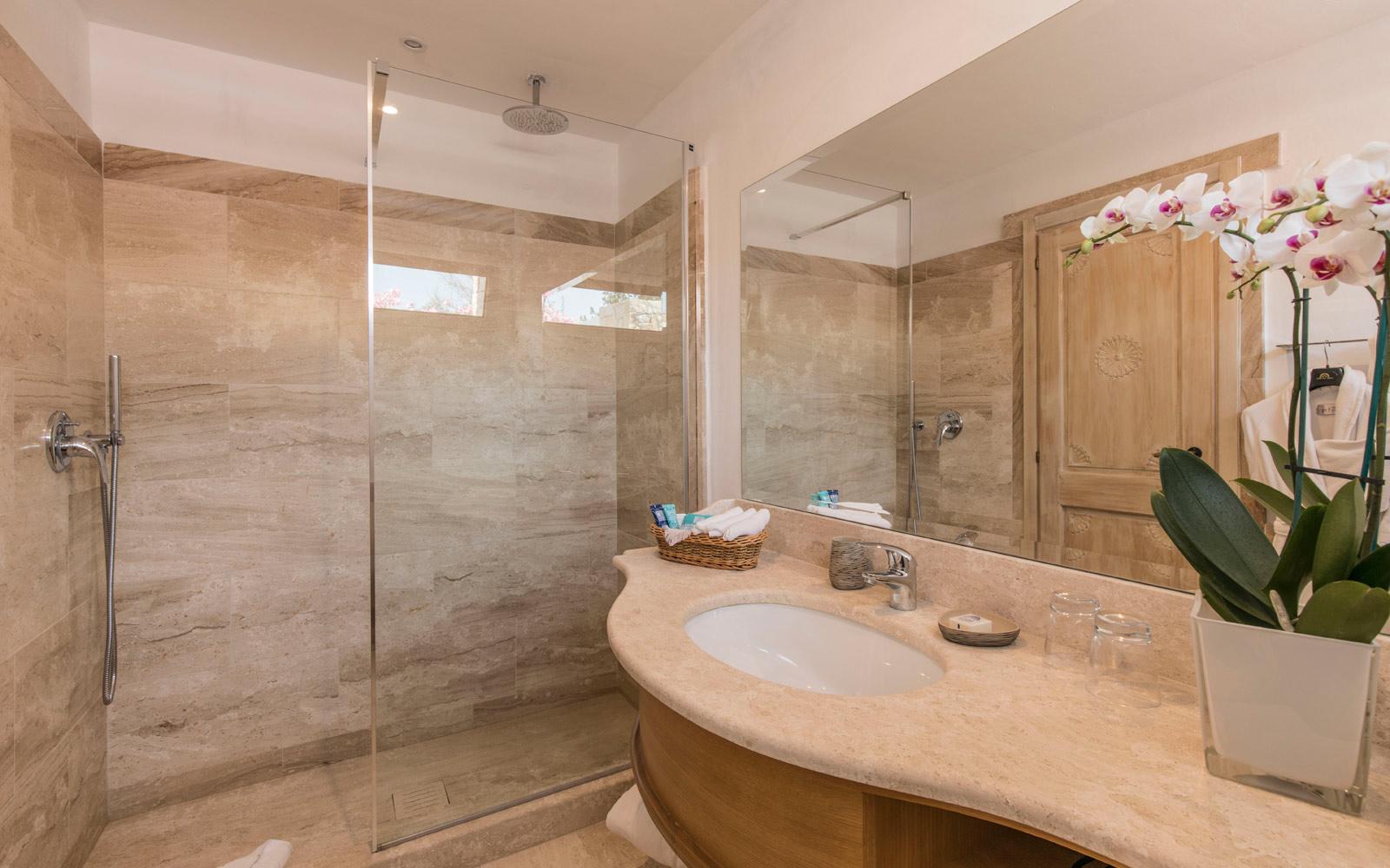 Room 208 Bathroom