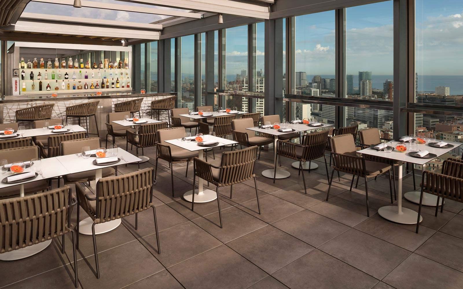 Melia Sky Barcelona - Terrace restaurant