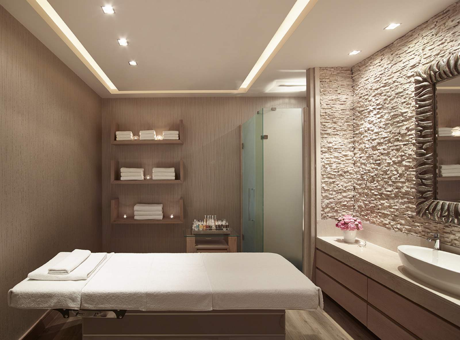 Sani Beach Spa Room