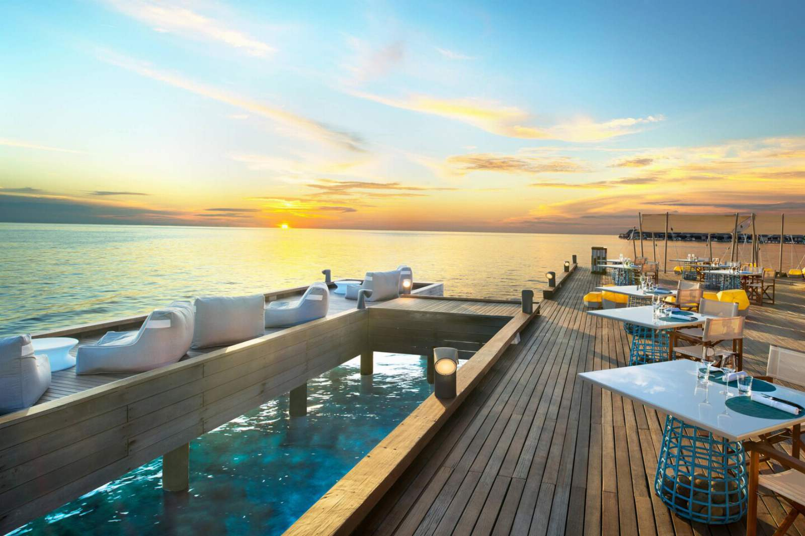 W Maldives - Fish Deck