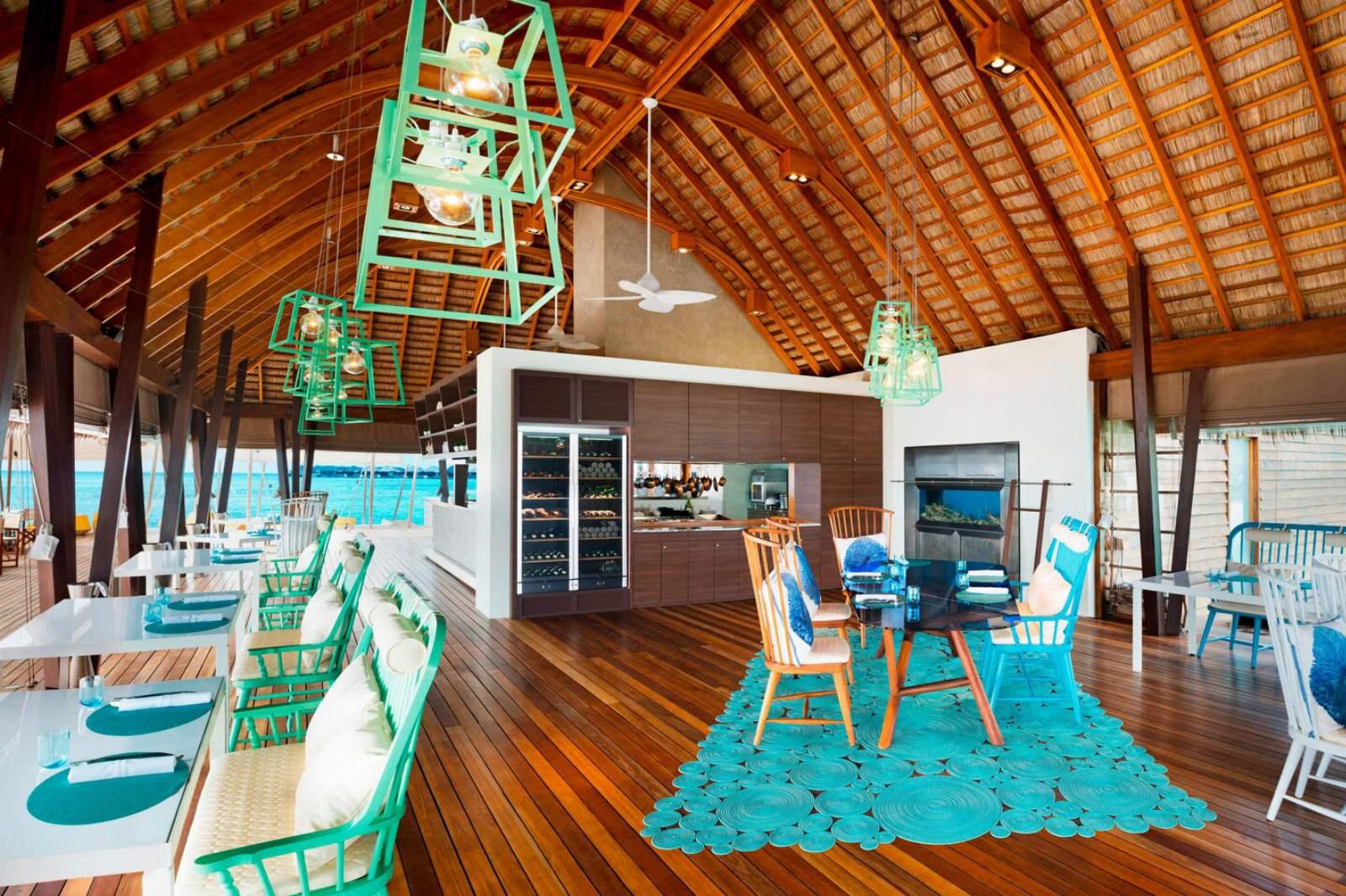 W Maldives - Fish Interior