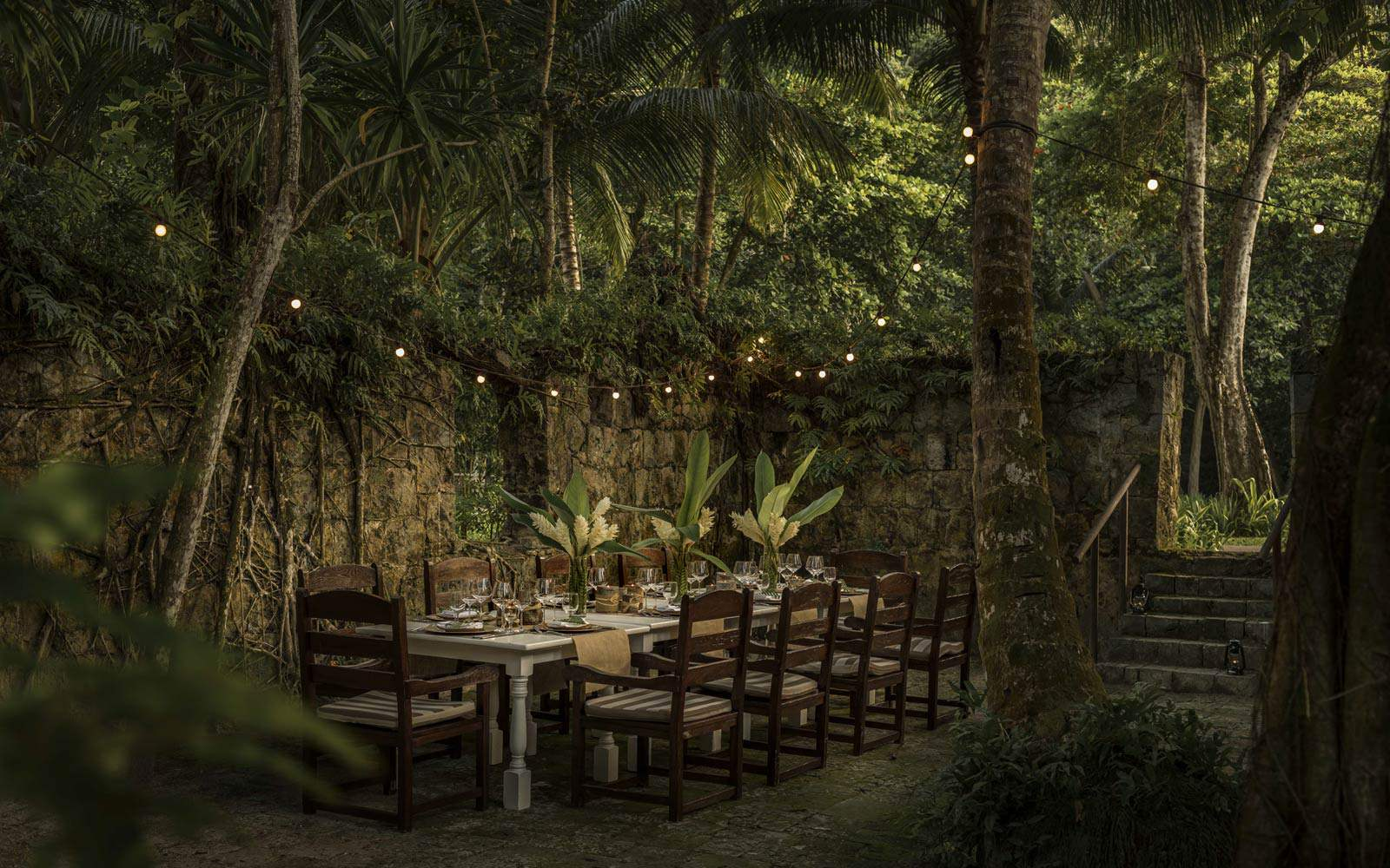 Four Seasons Seychelles - Foumba restaurant