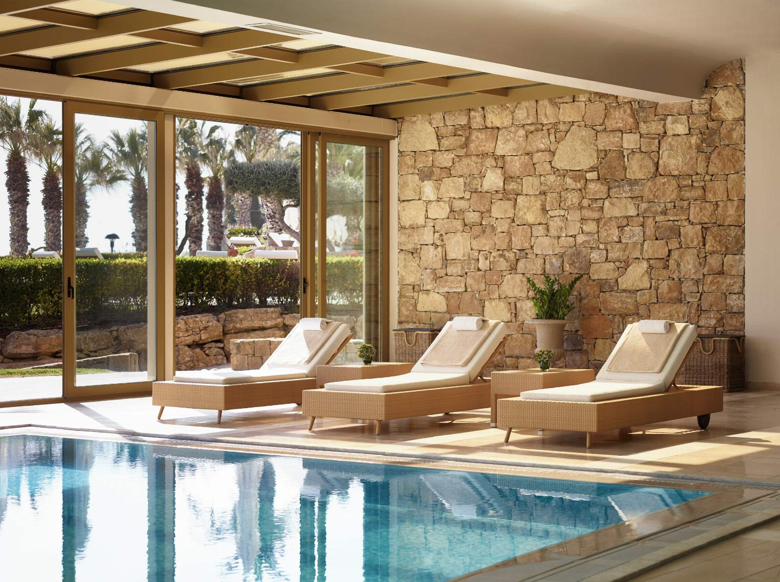 Sani Beach Spa Indoor Pool