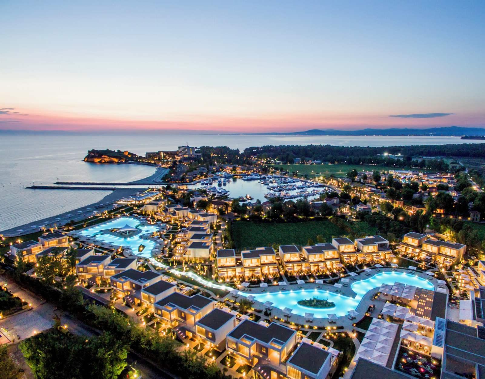 Sani Resort - Night View