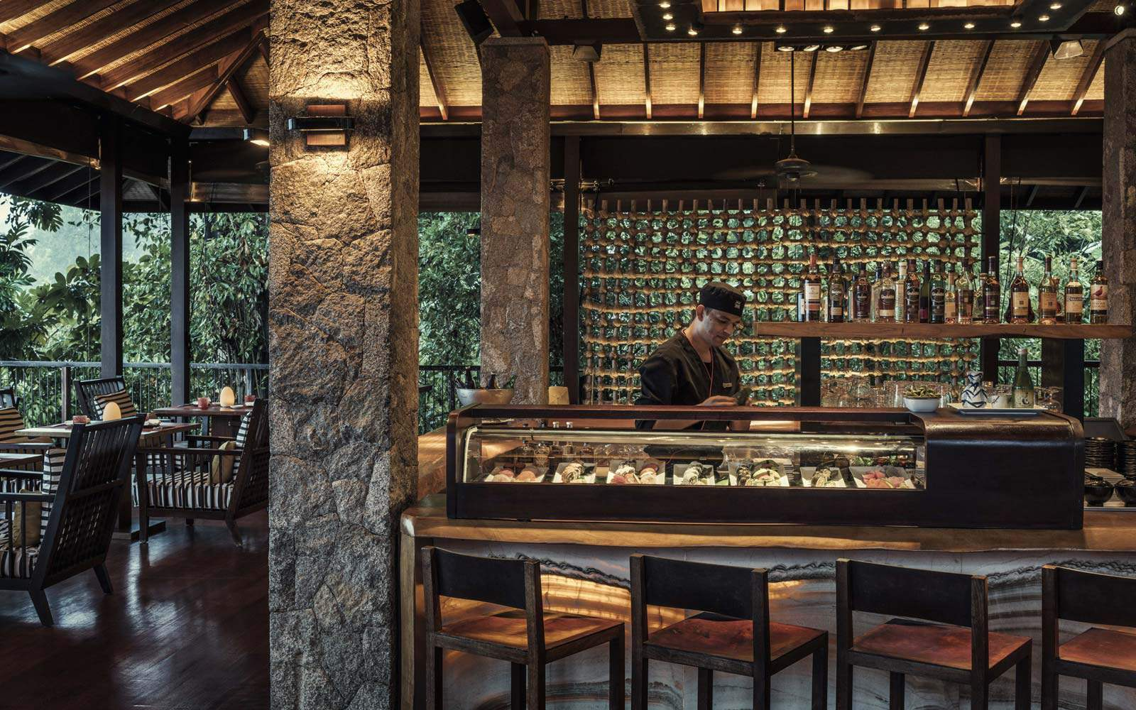Four Seasons Seychelles - Zes sushi bar