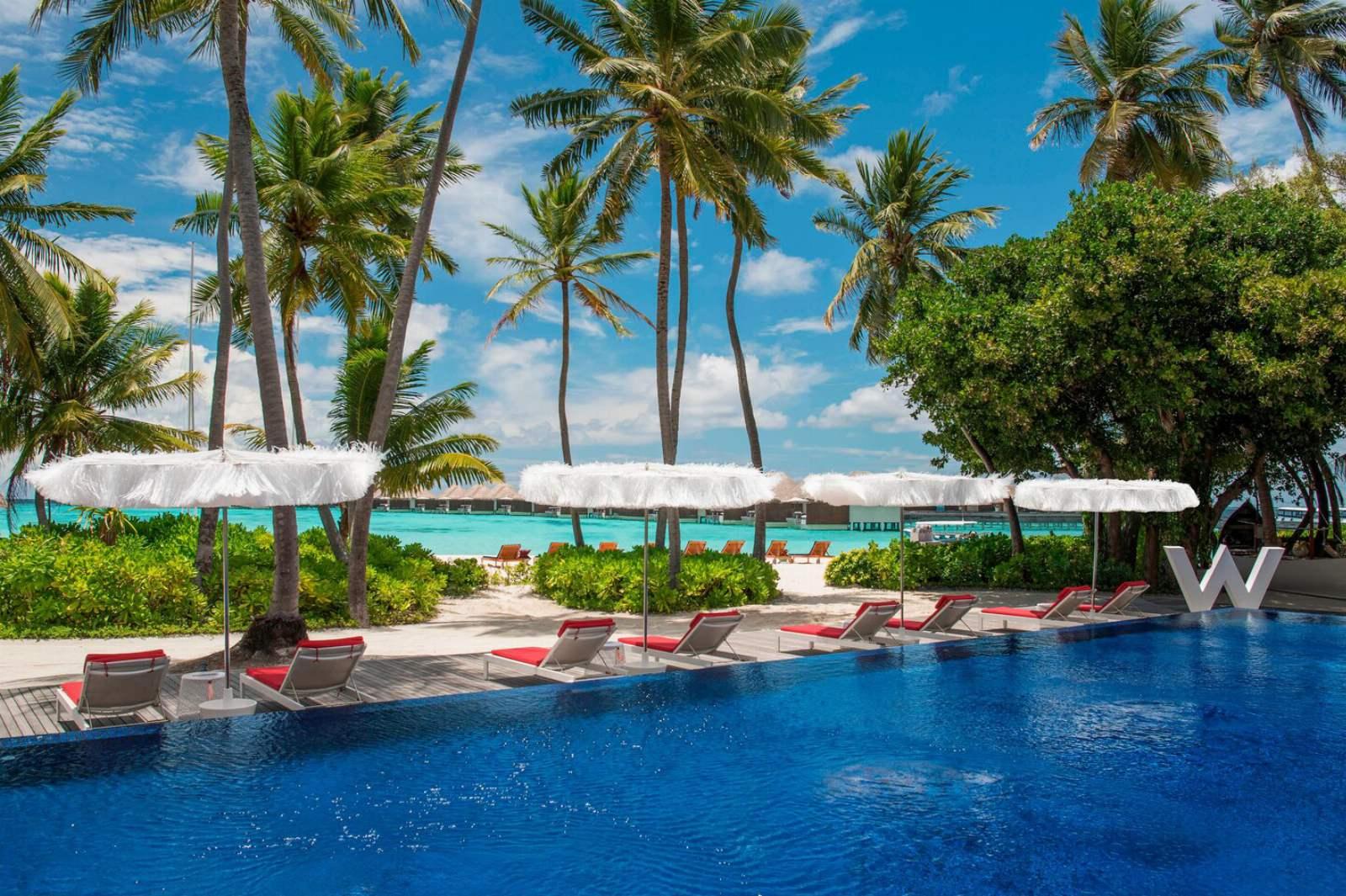 W Maldives - Pool Area