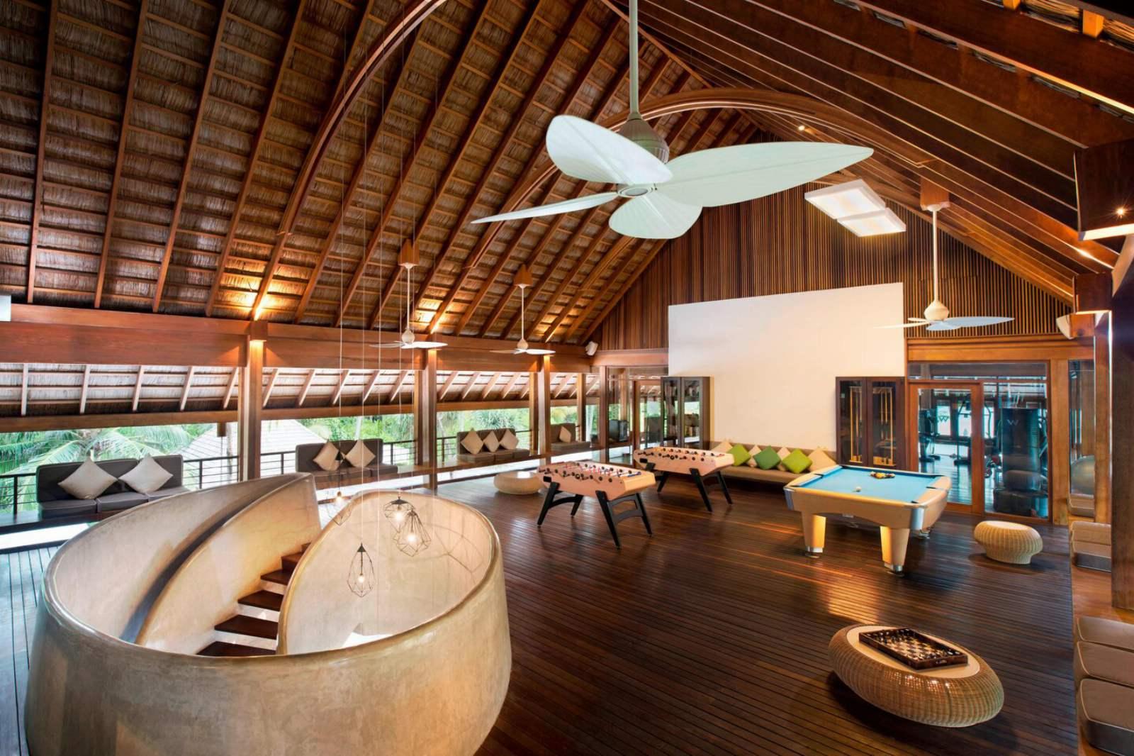 W Maldives - Entertain Area