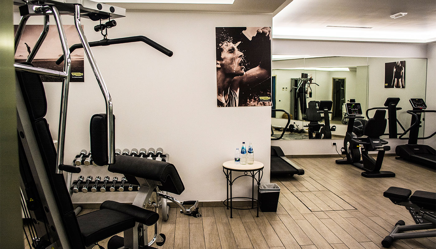 Fitness Room at Therasia Resort & Spa