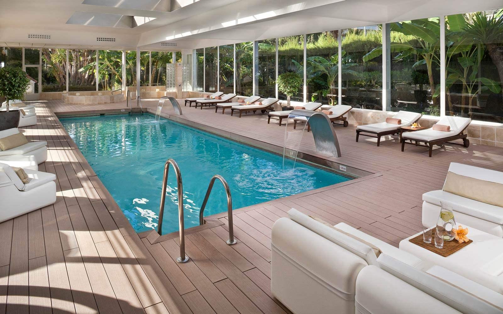 Hotel Gran Melia Don Pepe - Indoor pool
