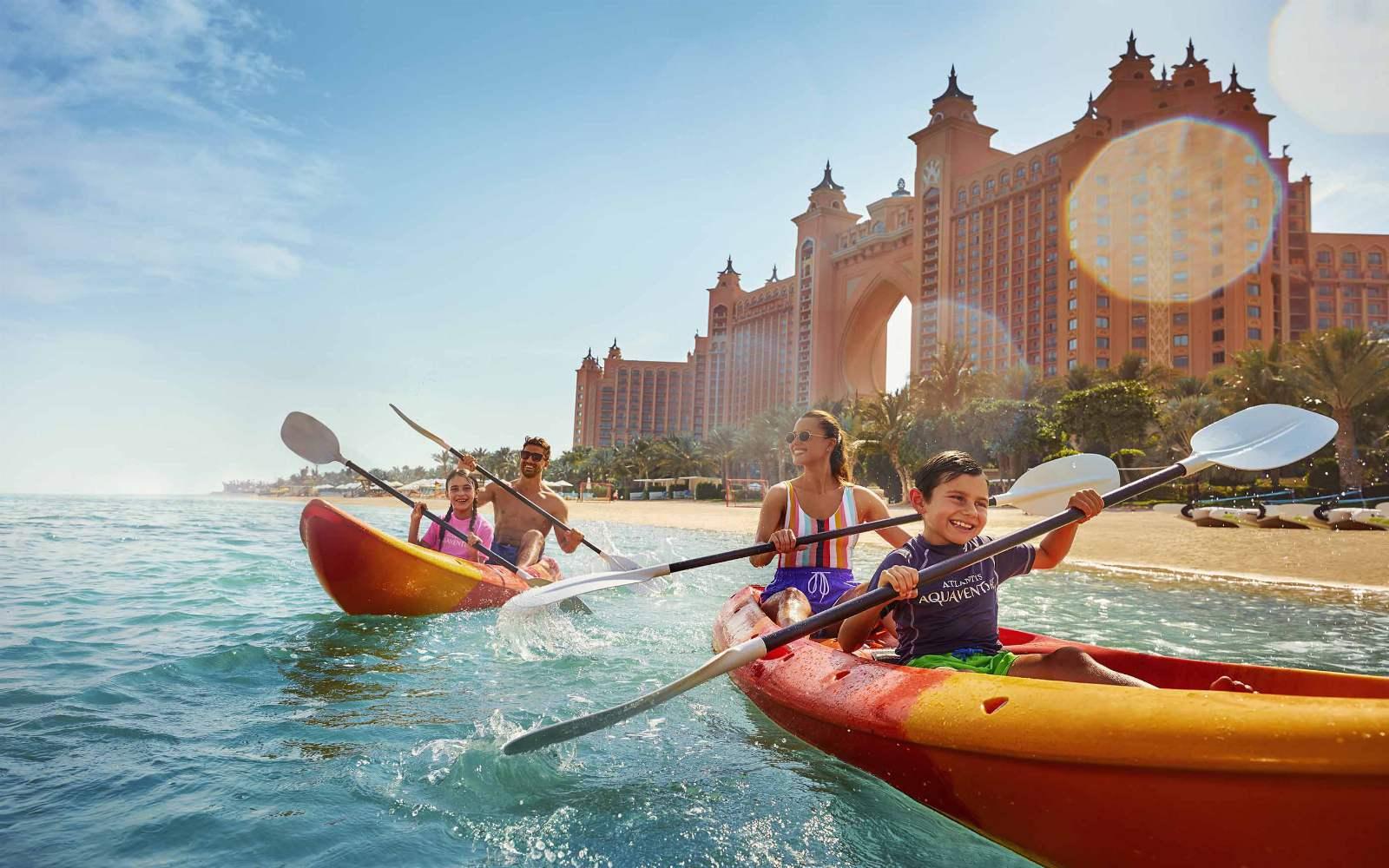 Atlantis, The Palm - Kayaking