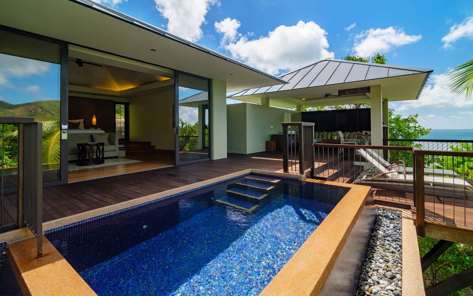 Raffles Praslin - Partial Ocean View Pool Villa