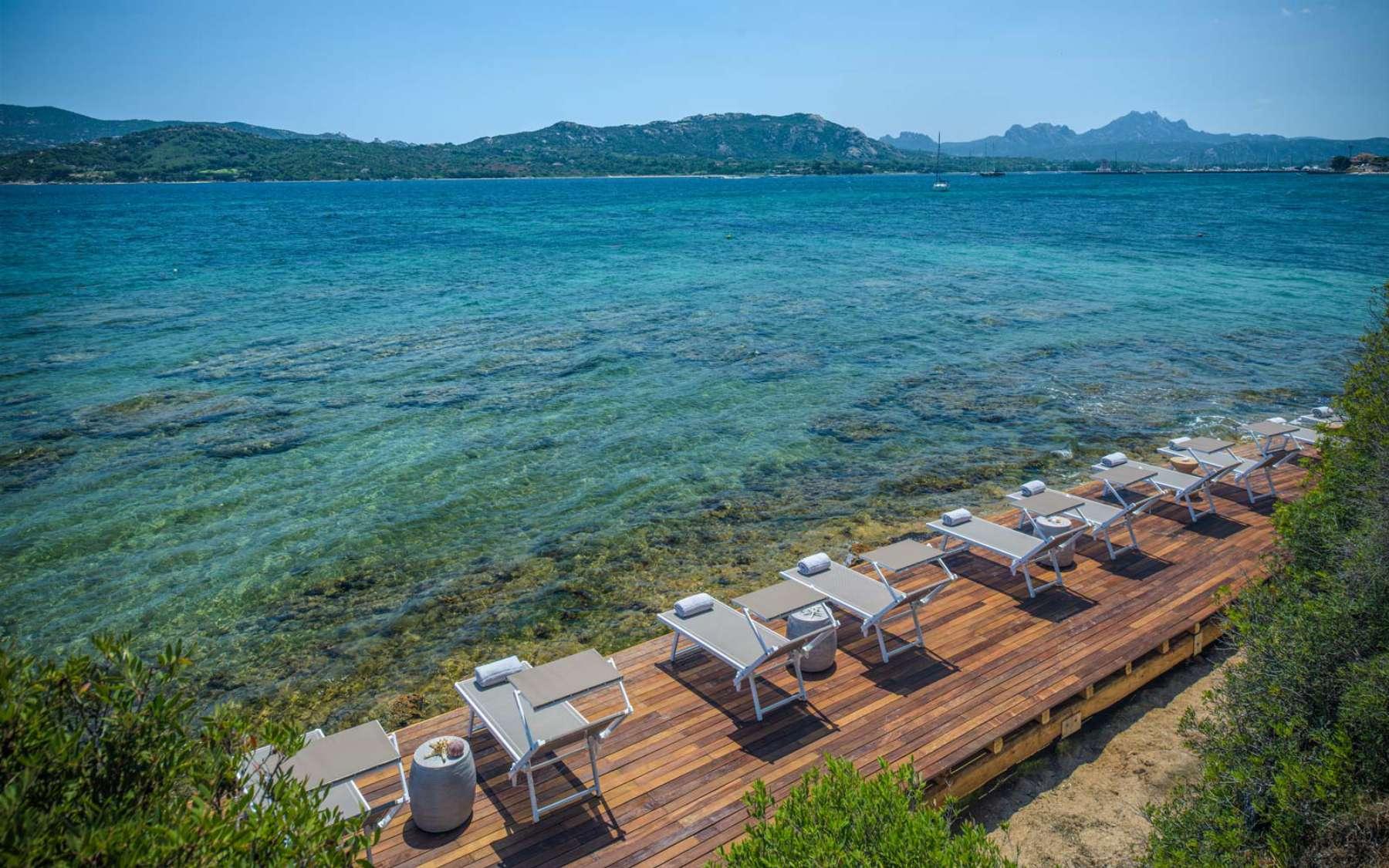 Villa Del Golfo Beach Deck
