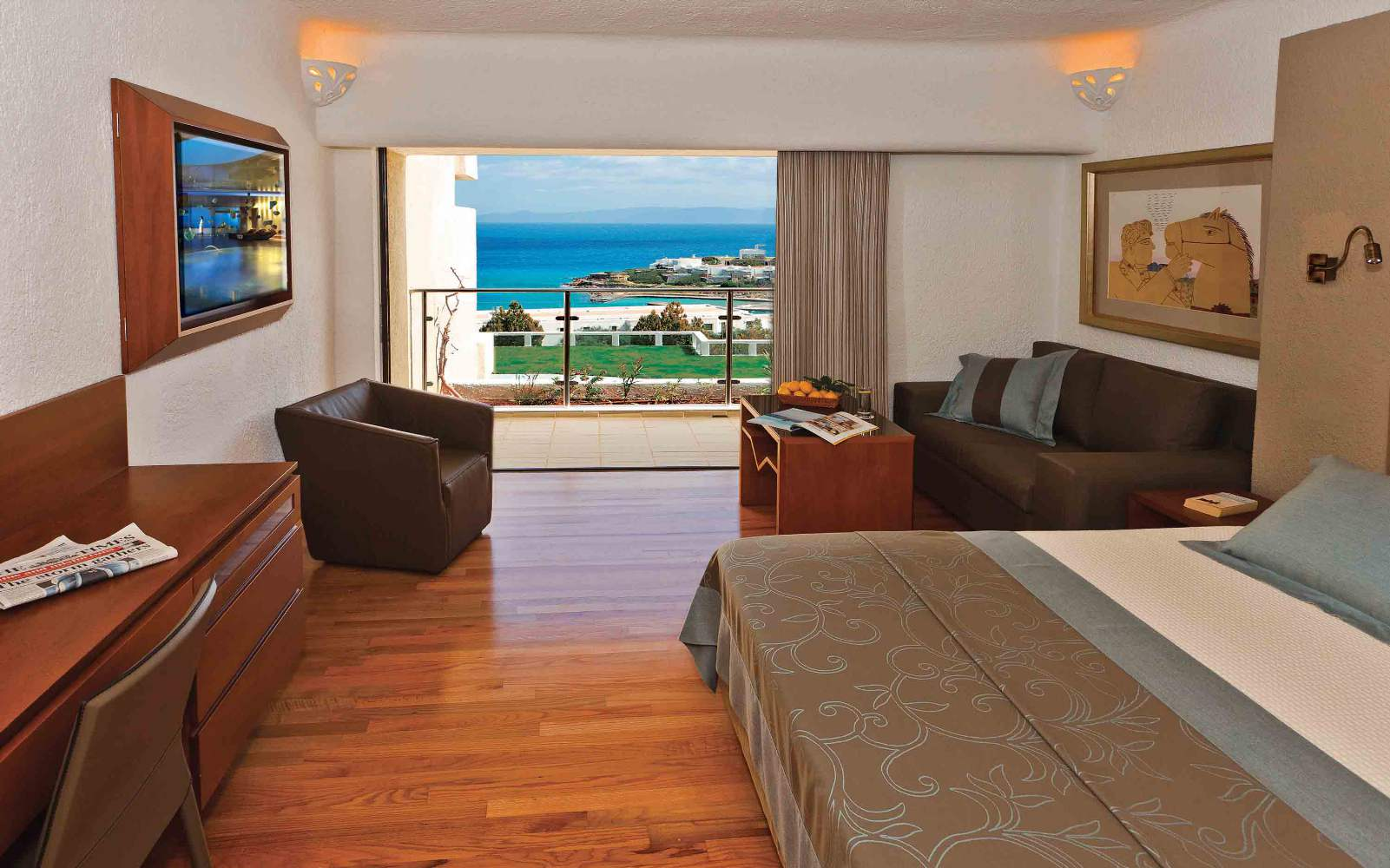 Porto Elounda Golf & Spa - Porto Sea View room