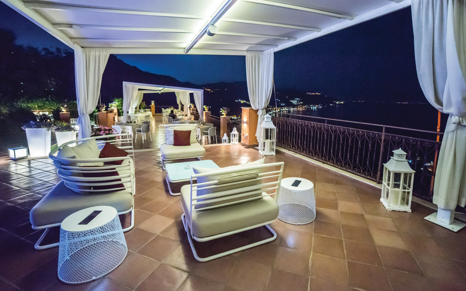 Grand Hotel Miramare Bar Terrace