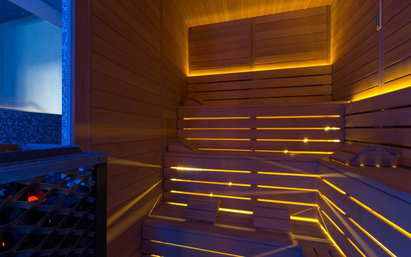 Sauna at Cala Ponte Hotel