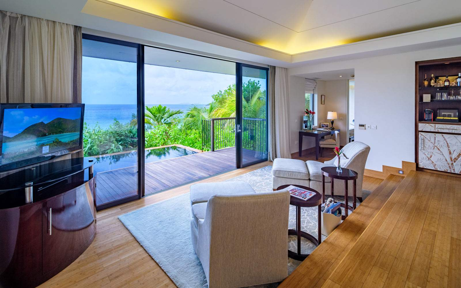 Raffles Two Bedroom Ocean View Pool Villa