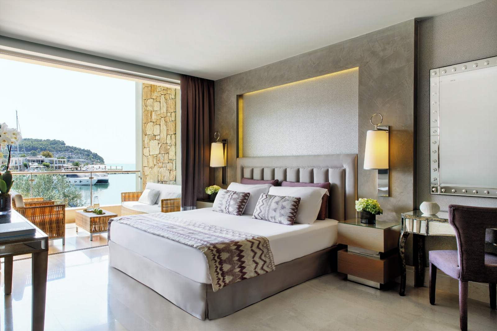 Sani Asterias Deluxe Family Suite - Marina Front