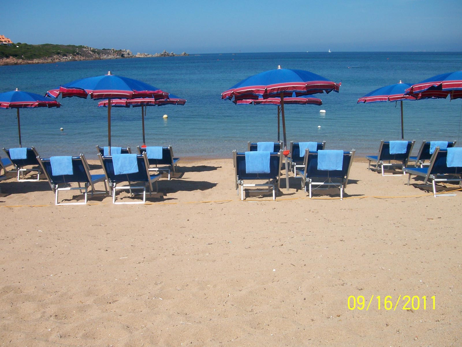 Punta Falcone Resort Beach