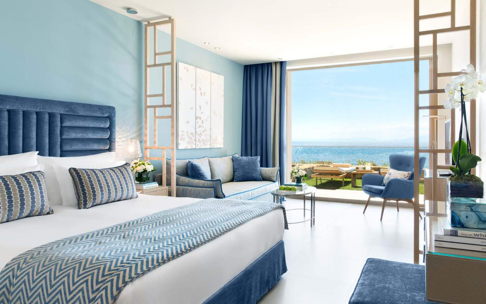 Ikos Oceania Deluxe Junior Suite with private garden