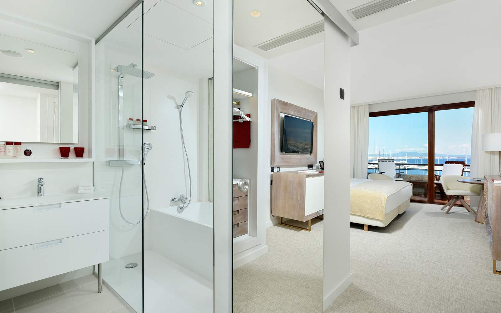 Gran Melia Victoria - Red Level Sea View Room - bathroom