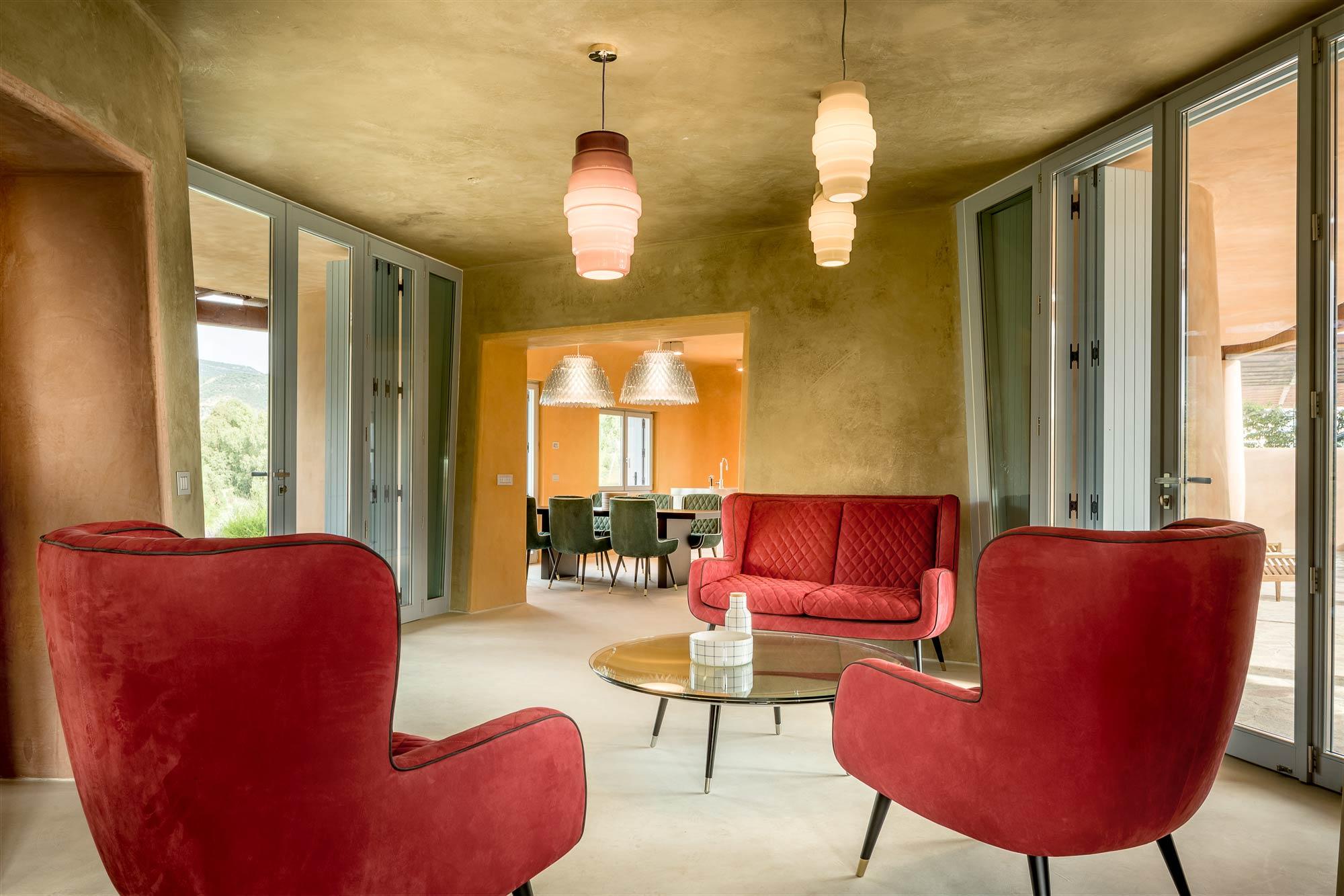Is Molas - Villa Nea Lounge Area