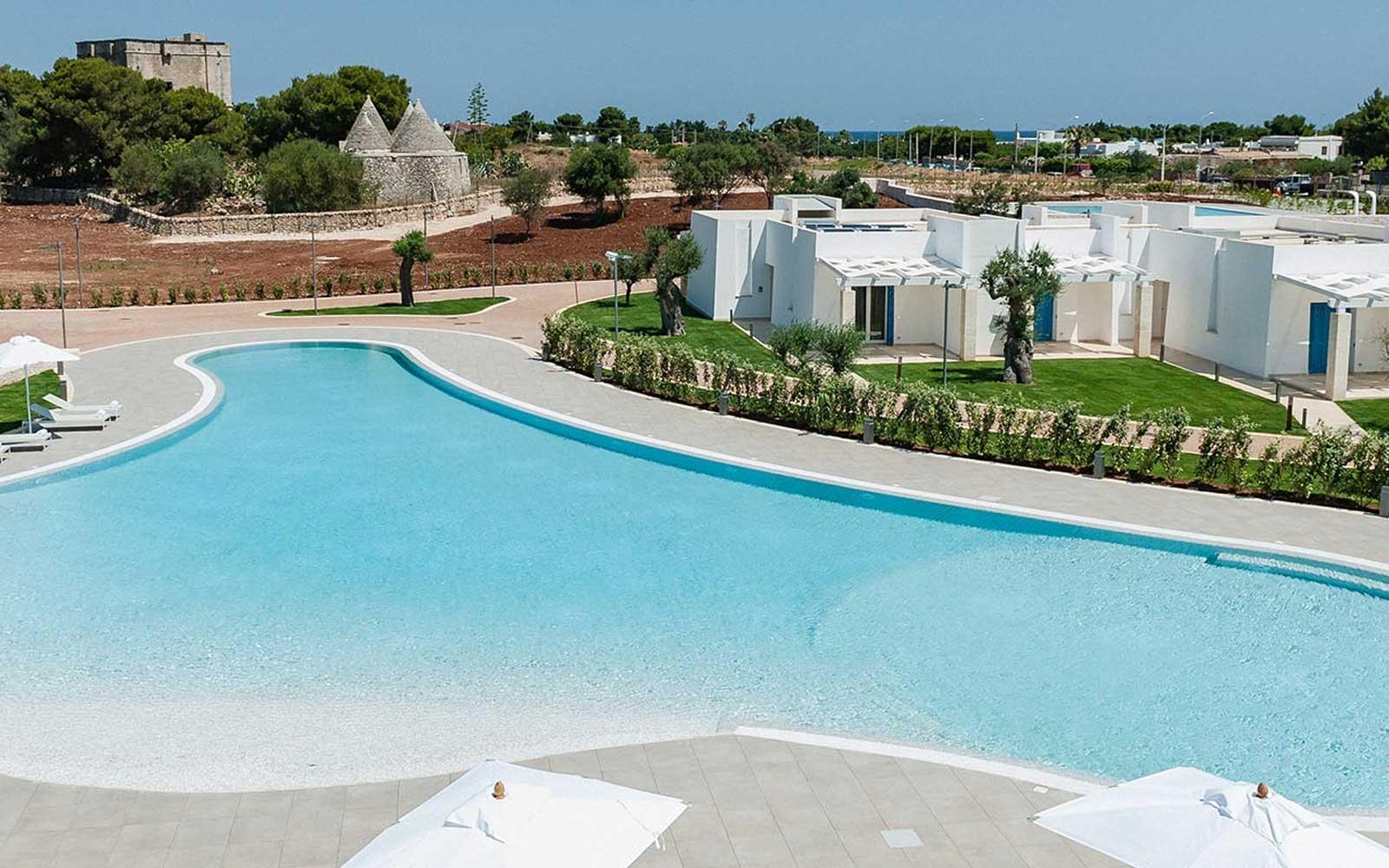 Panoramic View at Cala Ponte Hotel
