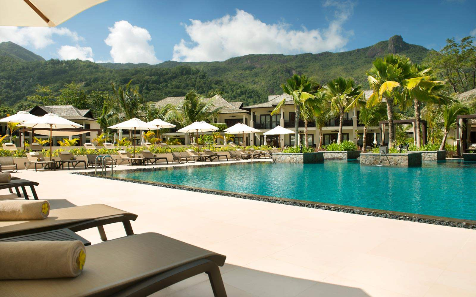 The H Resort Beau Vallon Beach - main swimming pool