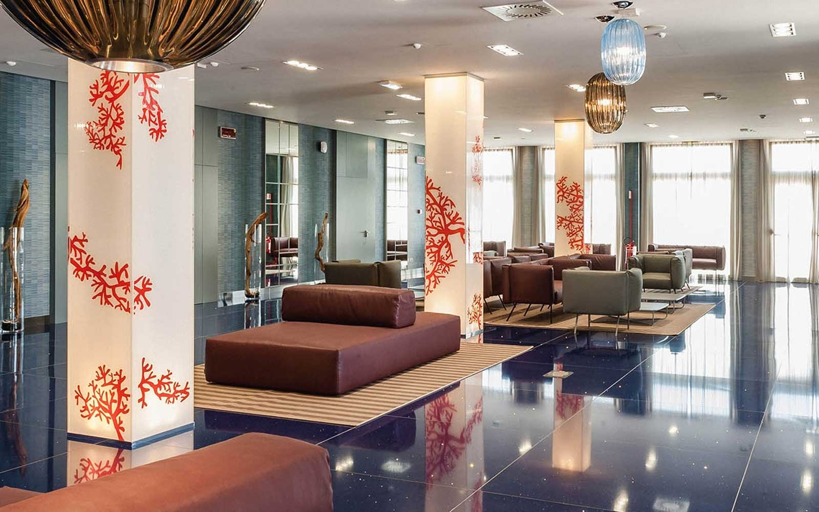 Lobby at Cala Ponte Hotel
