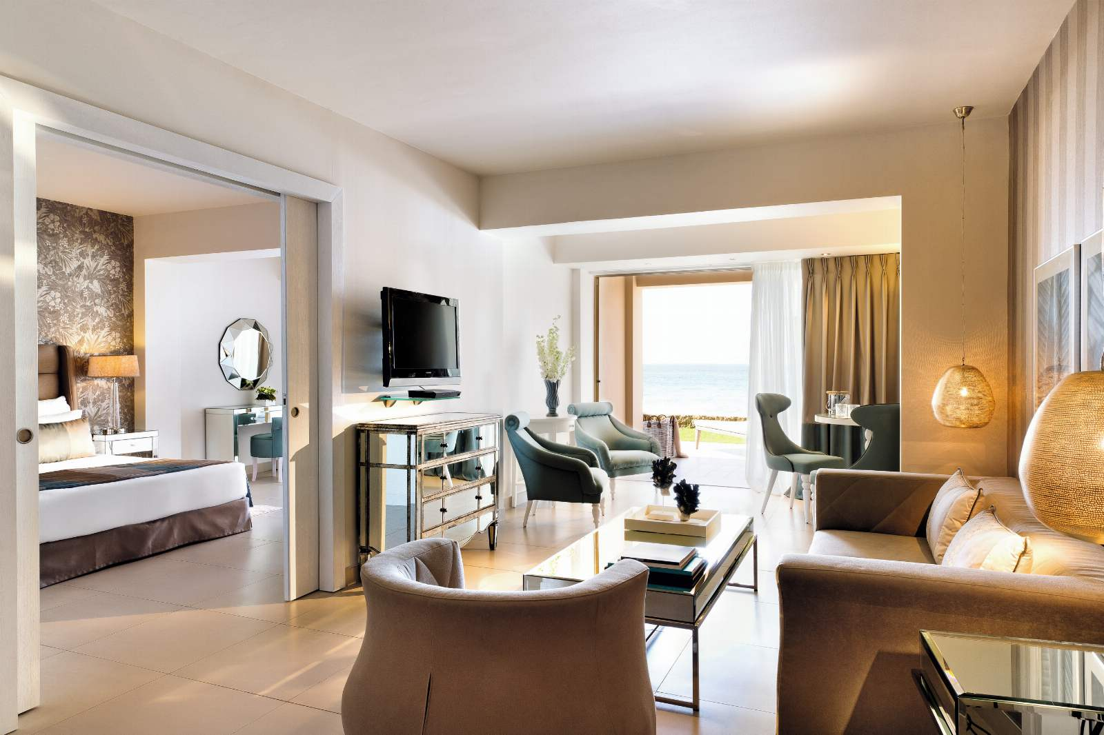 Sani Beach One Bedroom Family Suite