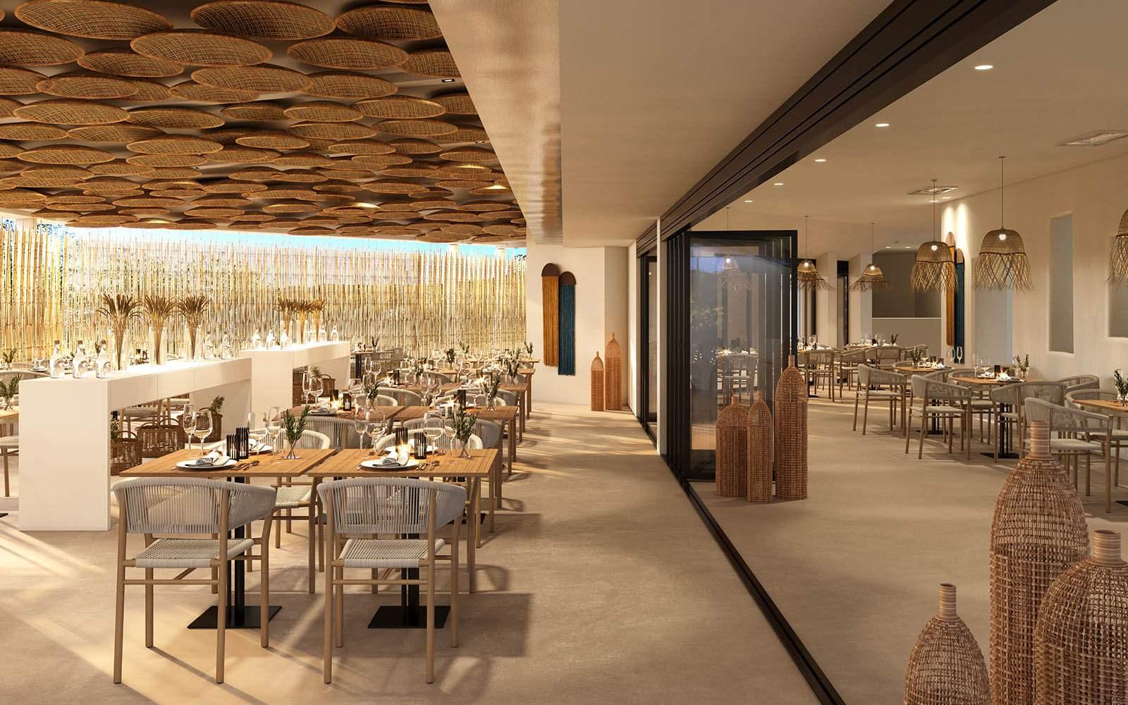 Baia Di Chia Resort Il Ginepro Restaurant