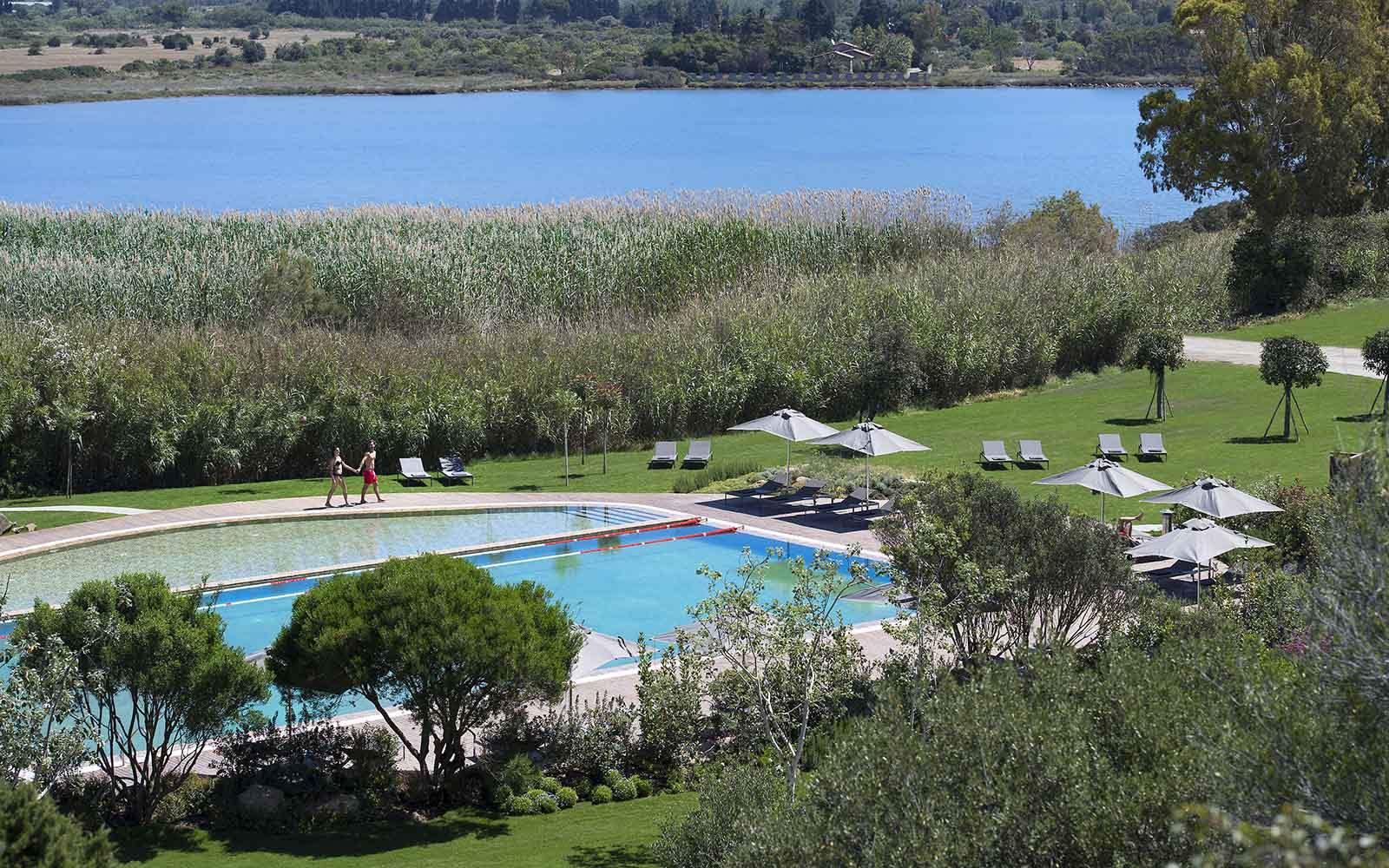 Baia Di Chia Resort Swimming Pool