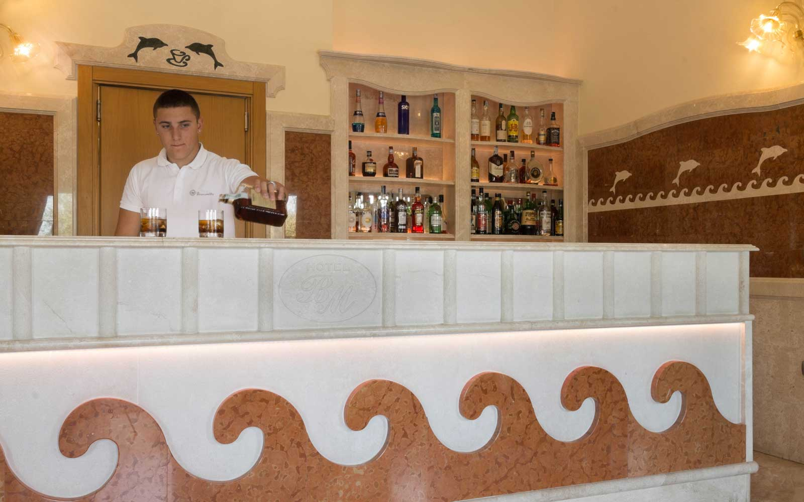 Bar at Hotel Brancamaria