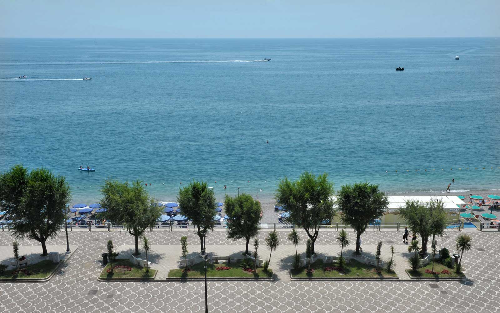 Beach Front at Hotel Pietra Di Luna