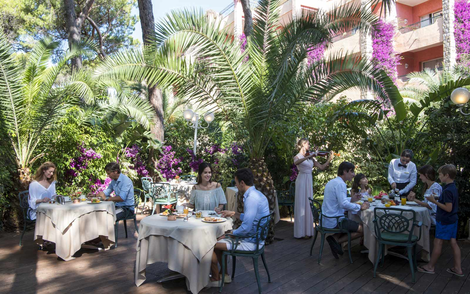 Cavalieri Restaurant at Hotel Castello at Forte Village