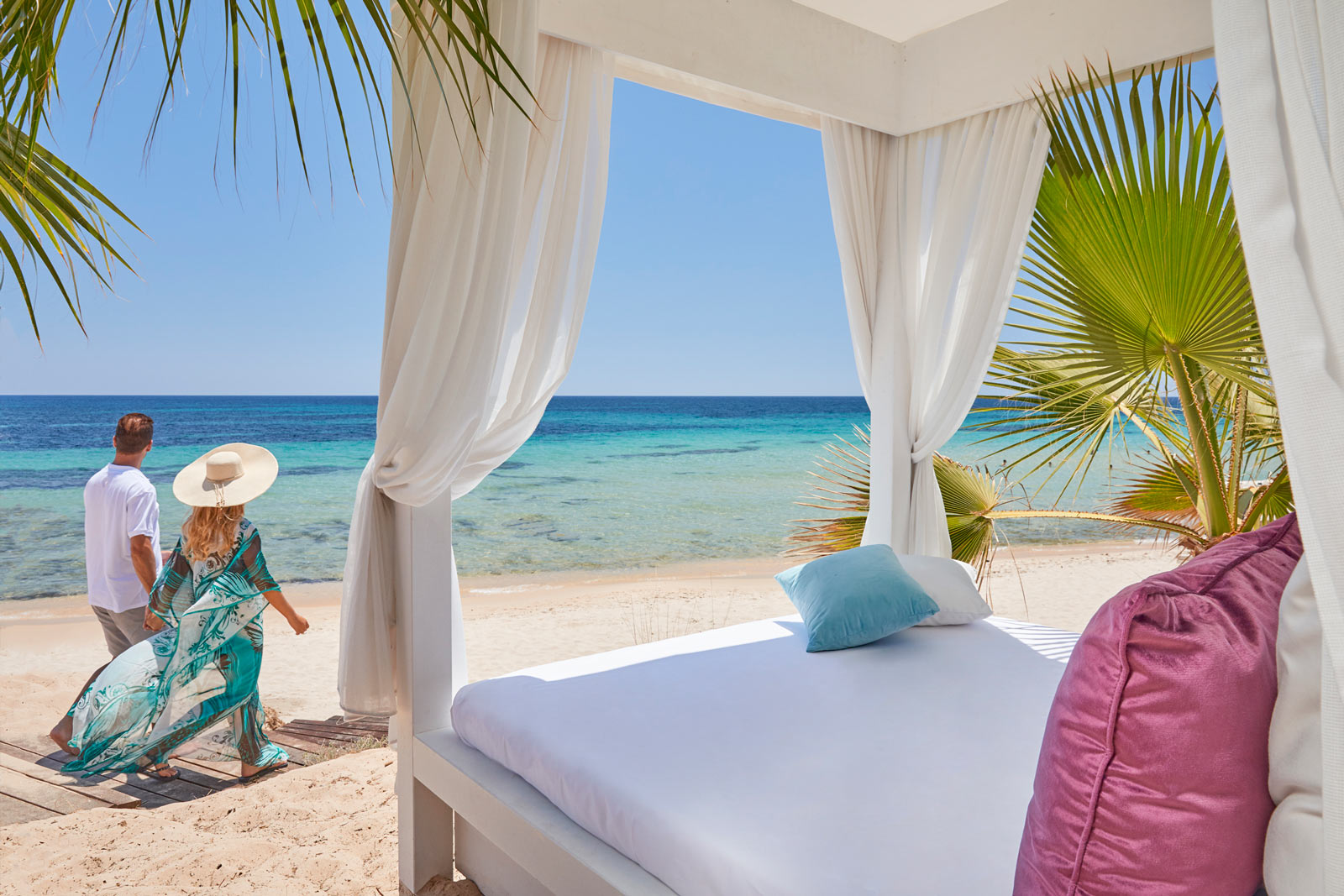 Beach Cabana Concierge Service - Forte Village Resort