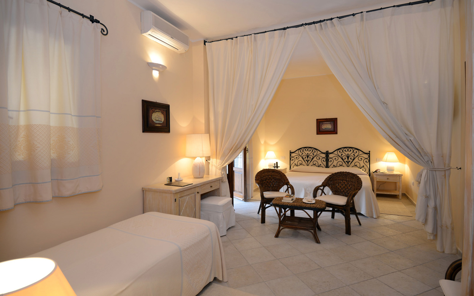 Is Morus Relais Triple Garden Room